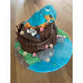 What an amazing kingfisher cake!!