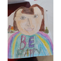 A fantastic self portrait!