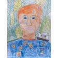 What a fantastic self-portrait!