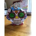 A fantastic 3D skull!