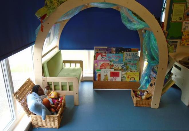 Our wonderful book corner