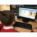 Using Scratch to tell a story.