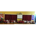 All ready to practise our class assembly...
