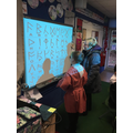 Showing the Anglo-Saxon runes...