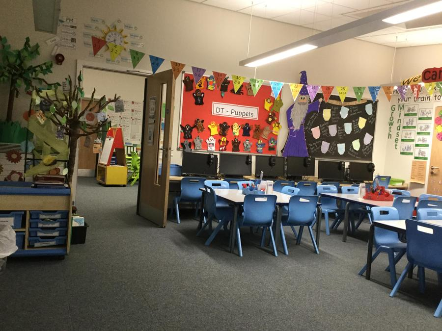 Our lovely Elm Class Classroom