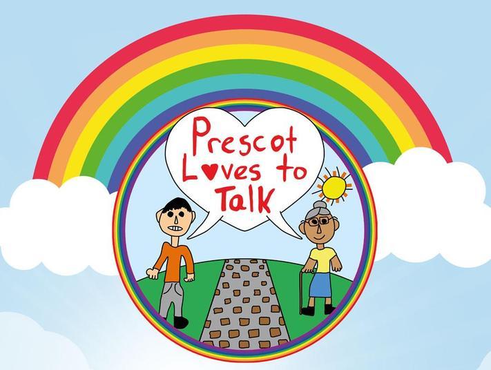 Prescot Loves to Talk
