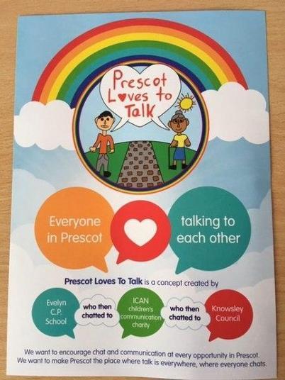 Prescot Loves to Talk Leaflet