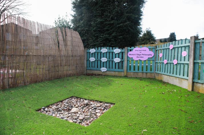 Our relaxing 'Philosophy Garden'