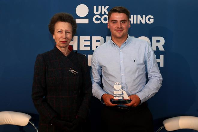 Our Doncaster Rovers Coach, Josh Gelder, has been awarded 'UK Coaching Hero'.