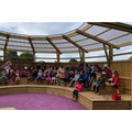 We visited our school amphitheater!