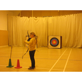 Y4 Pinkery Residential- Archery, The Beacon Centre