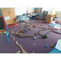Class 1 were building a city
