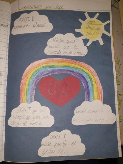 A very creative C4L poster by Lucy