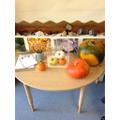 Curiosity area - pumpkins