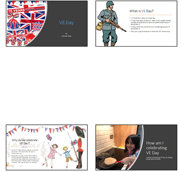 Fatimah's VE day presentation
