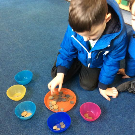 We investigate coins, time and measure.