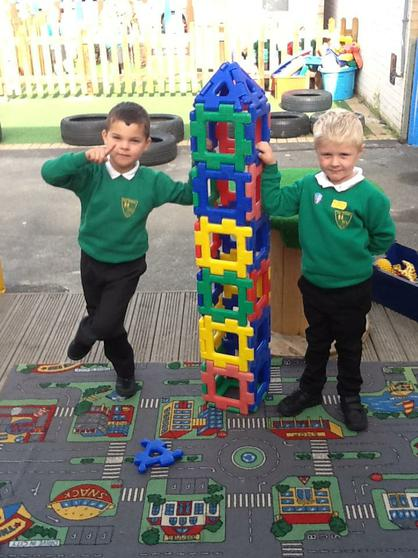We put shapes together to create models.