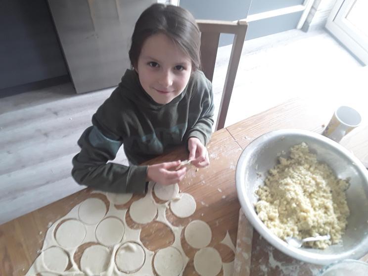 Laura's been making dumplings.