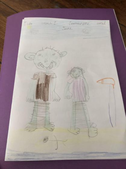Skye's beautiful front cover for her book