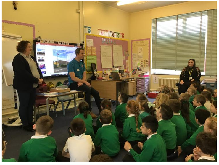 Year 3- Visitors from the Salvation Army