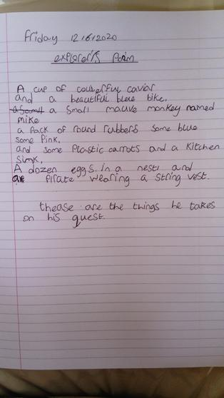 Poem by Amelia