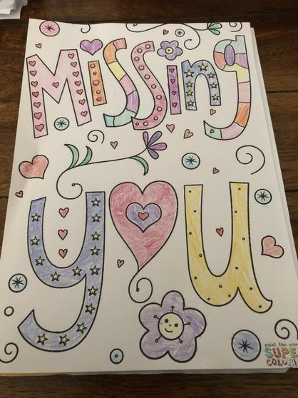 A beautiful colouring by Skye