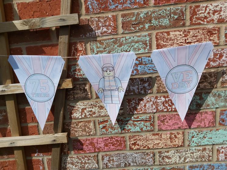Beautiful bunting by Archie.