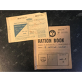 Gran's ration book and petrol ration book
