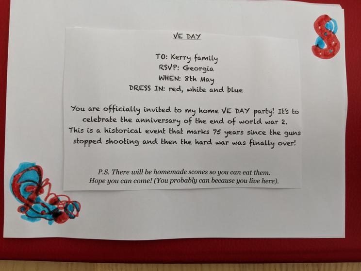 Georgia's invitation