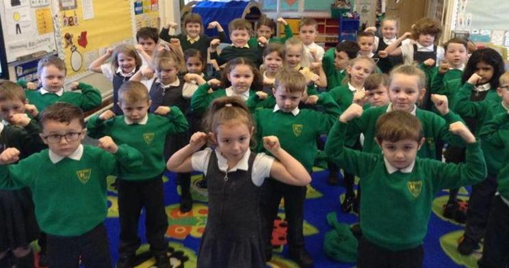 Year 1 acting out Avocado Baby