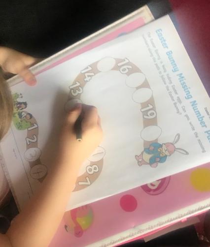 Easter maths activity