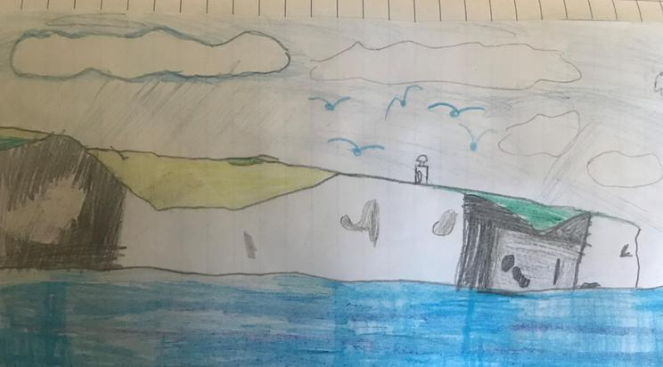 Ewan's picture of the White Cliffs of Dover