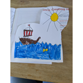 Oliver's viking ship