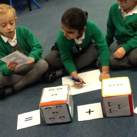We learn about adding and taking away.