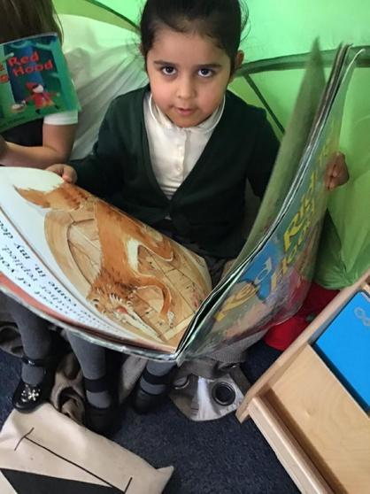 We read books to others