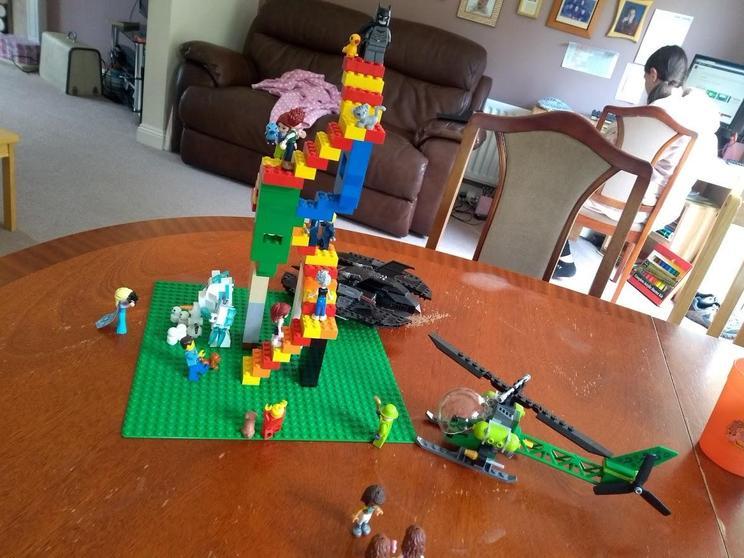 Fiona's lego.