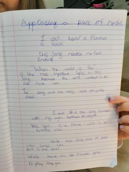 Song appraisal by Amelia