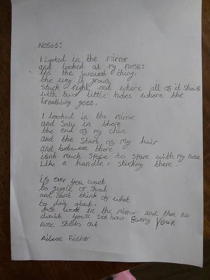 Archie's handwriting.
