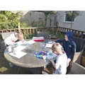 Ethan's outdoor painting
