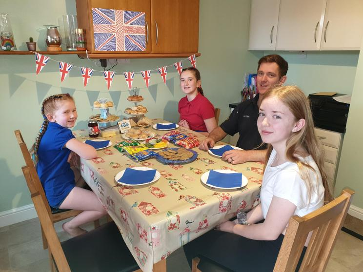 Lucy's VE day celebrations