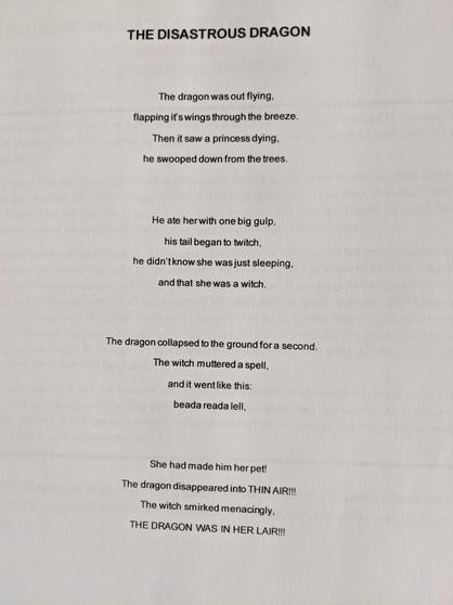 Georgia's poem