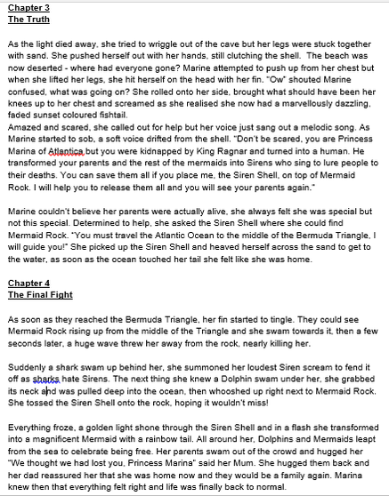 Bella's Story - The Siren Shell (Page 2)