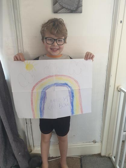 Rainbow poster by Harley