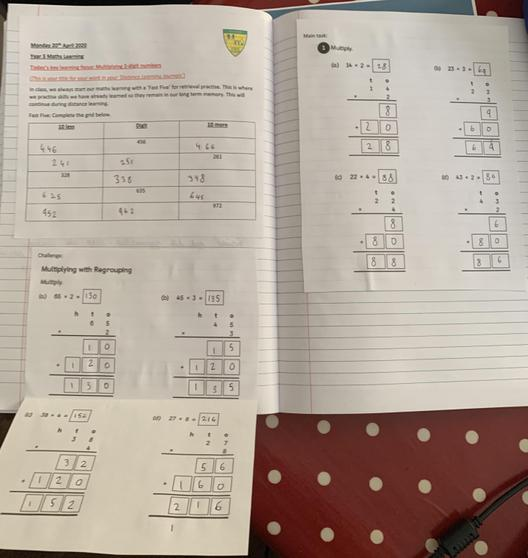 Great Maths learning Lily