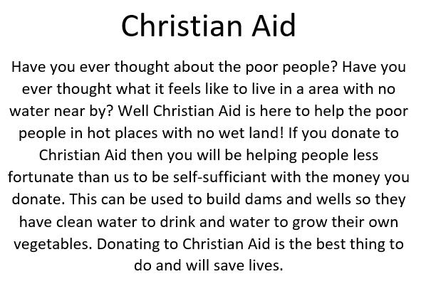 Emily's Christian Aid Text