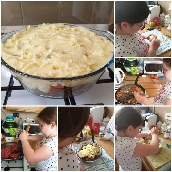 VE day cooking by Eden