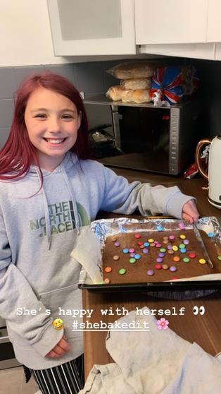 Savannah has been baking.