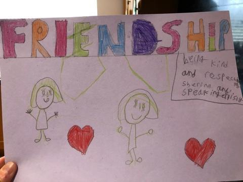 Friendship poster by Bella H