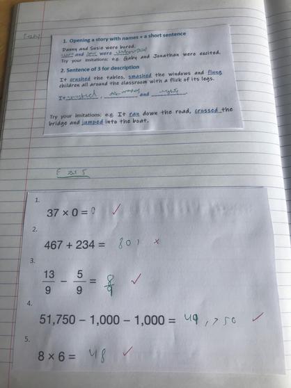 Kameron's maths.