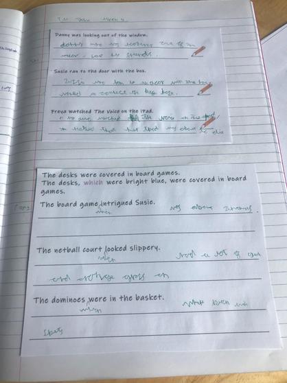 Kameron's English work.